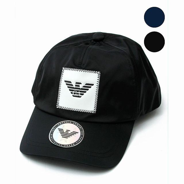 EMPORIO ARMANI エンポリオアルマーニ ロゴ キャップ 帽子 メンズ おしゃれ かっこいい ブランド
