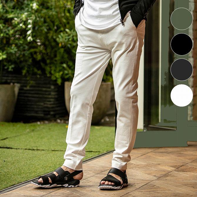 JH junhashimoto ジェイエイチ ジュンハシモト スキニー ジャージー パンツ メンズ ズボン ボトムス リラックス おしゃれ かっこいい ブランド 部屋着 ウェア