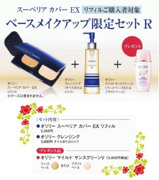 奥利里优异掩蔽 EX (基金会) 化妆品有限集 R (任何情况下)