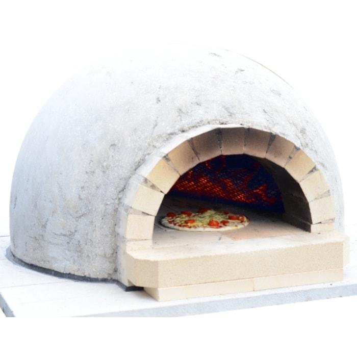 ピザ窯 ピザ窯キット●D700M 無煙タイプ 自分で作れる ドーム型ピザ窯● ピザ窯DIY初心者大歓迎! はじめてでも積み木みたいに作れる 簡単作りやすい 炭使用で無煙に 食育 石窯 ピザ釜 耐火レンガ 自作パテント登録済