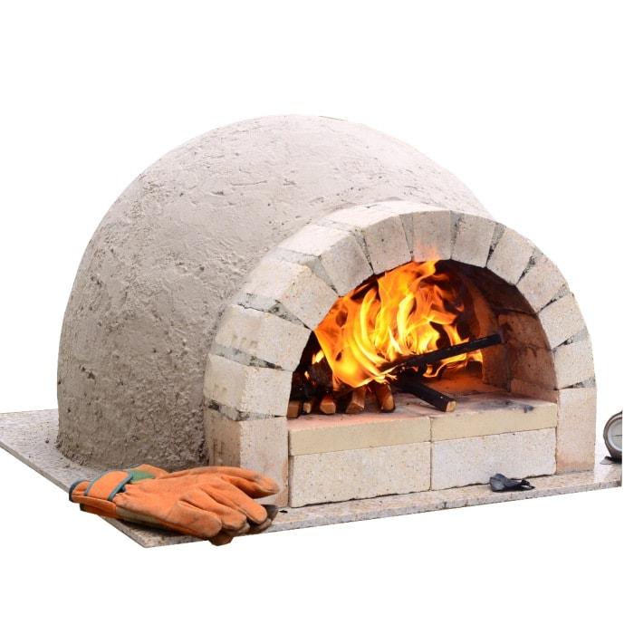 ピザ窯 ピザ窯キットC600 ファミリーキット家族で楽しむ 手作りピザ窯 石窯 自作ピザ窯をドームピザ窯にしませんか?円形ピザ釜/耐火レンガ/自作/ドーム型ピザ窯/ピザ窯手作り 食育  02P01Oct16