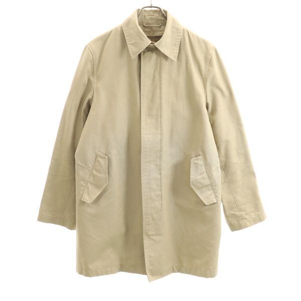 【中古】 ユナイテッドアローズ ステンカラー コート UNITED ARROWS ライナー付き M ベージュ メンズ 【191218】