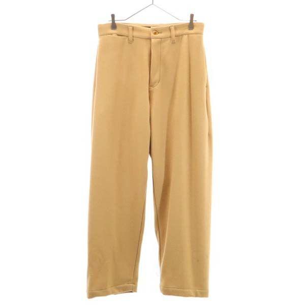 ジョンブル メルトン ワイド トラウザー 開店祝い パンツ L 保障 201019 メンズ Johnbull 中古 未使用 ベージュ