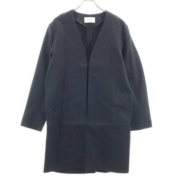 ジョンブル ジャガード コート L 100%品質保証 ☆最安値に挑戦 メンズ 200502 未使用 Johnbull ドビー 黒