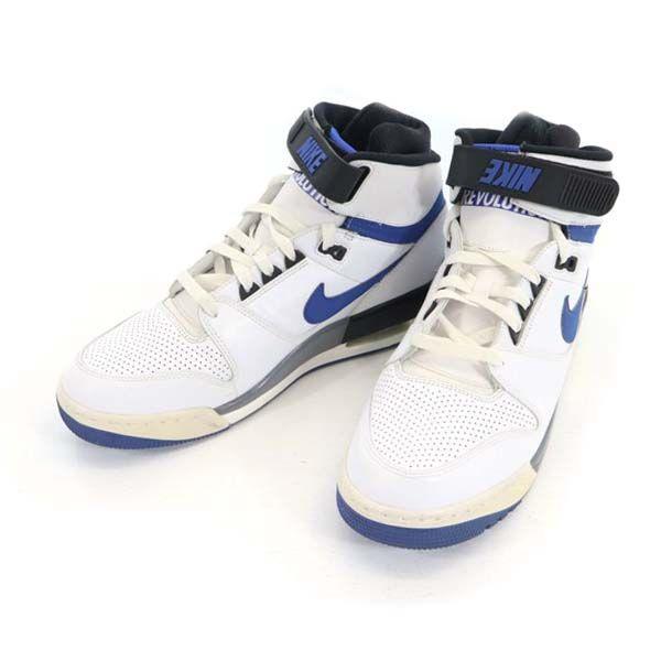 中古 ナイキ 日本メーカー新品 レボリューション シューズ NIKE 当店限定販売 REVOLUTION スニーカー ホワイト 古着 メンズ 靴 200417