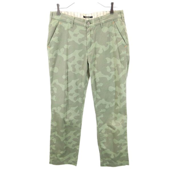 オロビアンコ 迷彩 パンツ W32 メンズ 期間限定 Orobianco 驚きの値段で 中古 グリーン系 210720