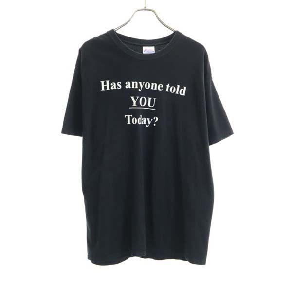 ヘインズ 半袖 Tシャツ XL メンズ !超美品再入荷品質至上! 中古 メール便可 200423 オンラインショップ Hanes 黒