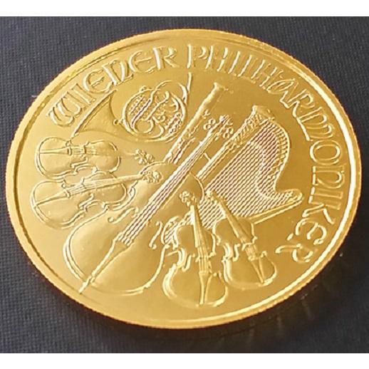 【純金 コイン 金貨】(純金コイン)24金 ウィーン金貨 1/10オンス オーストリア造幣局 保証書付k24 24金 地金型金貨 wien gold coin 99.99% au