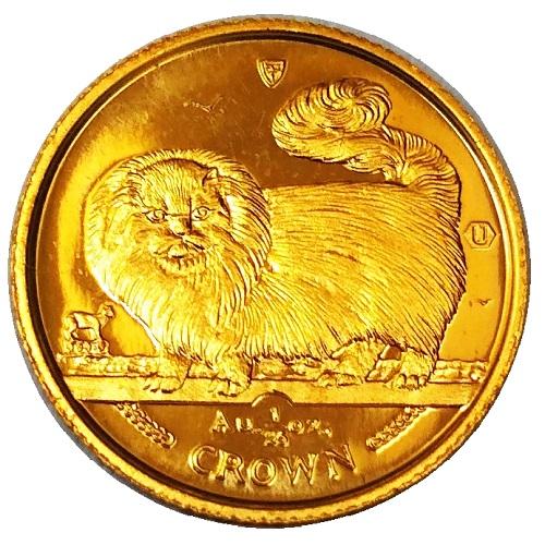 24金 キャット金貨 1/25オンス 1997年製 マン島政府発行