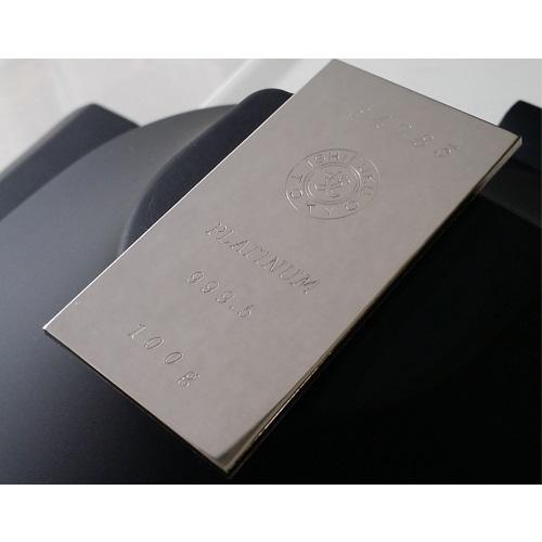 【プラチナ インゴット】プラチナインゴット 100g 石福金属発行 保証書付き 送料無料 プラチナバー