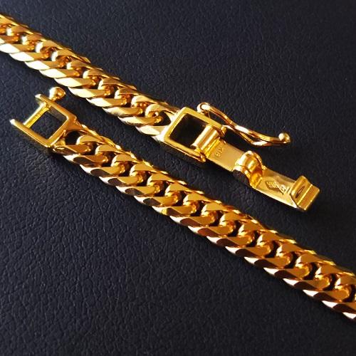【18金 喜平チェーン】18金 喜平チェーン 6面ダブル 50センチ 30g ゴールドネックレス K18 gold jewelry necklace