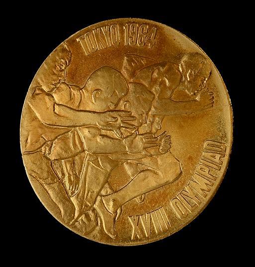 東京オリンピック金貨 1964年製日本製 K18 記念メダル 7.2g《安心の本物保証》 【保証書付き・巾着袋入り】