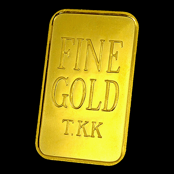 "Gold bar 10 TANAKA of Tanaka kikinzoku Kogyo familiar see Barco in' in g Tanaka precious metals co. issued CM. Also known as ""Kimber"" is called. Ingot miniature ( pure gold bullion ) just like gold coins to purchase. To your life glow of gold!"