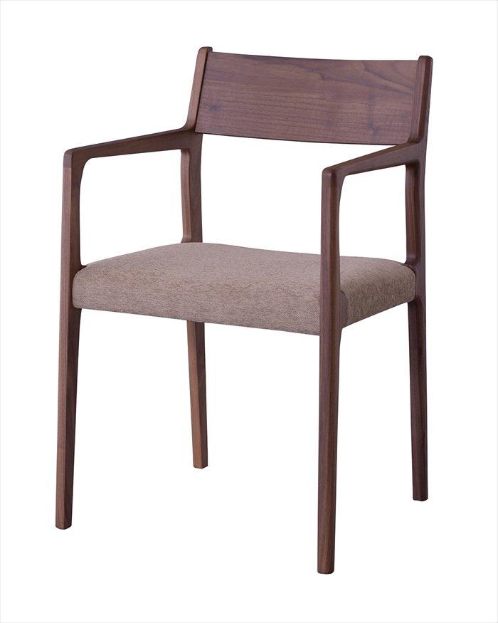 送料無料 アームチェア JPC-122WAL 椅子 いす イス チェア チェアー ダイニングチェア ダイニングチェアー 北欧テイスト モダン ナチュラル シンプル アンティーク