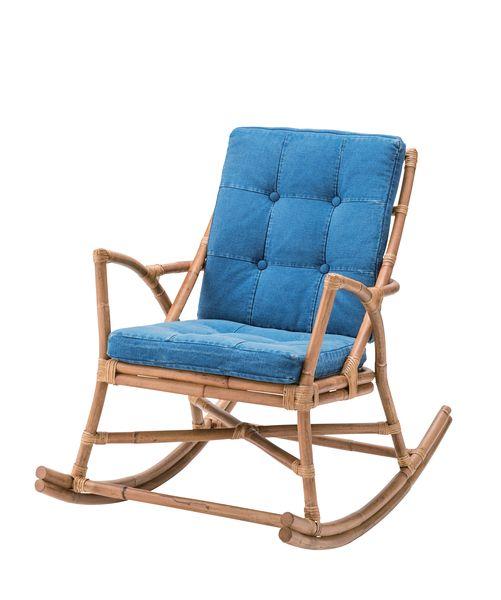 送料無料 ロッキングチェア TTF-906 パーソナルチェア ソファ 1人掛 ロッキングチェア 揺り椅子 肘付 いす モダン ナチュラル シンプル アンティークジーンズ デニム アメリカン ヴィンテージ カジュアル スタイリッシュ