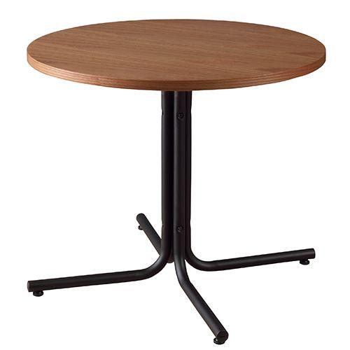 ダリオ カフェテーブル END-225TBR ダイニングテーブル カフェテーブル ラウンドテーブル ミーティングテーブル 円形テーブル オーク突板 北欧 シンプル モダン アンティーク