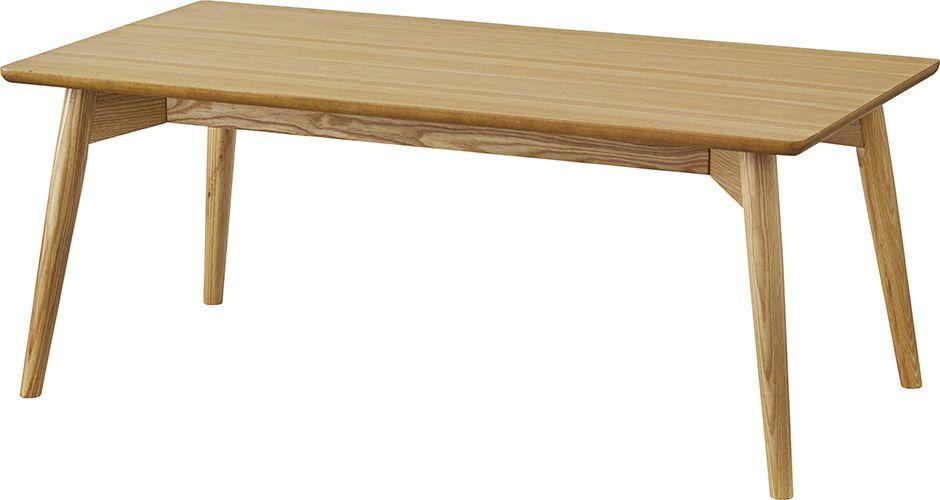 カラメリ センターテーブル KRM-100NA 木製 テーブル リビングテーブル カフェテーブル ウッドテーブル 北欧 西海岸 table ヴィンテージ おしゃれ レトロ モダン