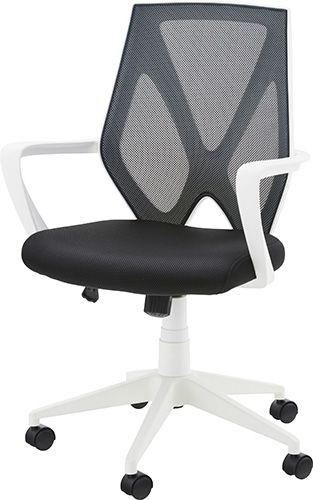 オフィスチェア OFC-10WH チェア オフィスチェア 肘付き パソコンチェア 椅子 事務椅子 チェア オフィス