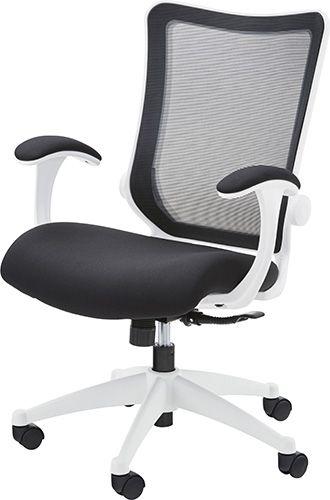 オフィスチェア OFC-20BK チェア メッシュ オフィスチェア 肘付き パソコンチェア 椅子 事務椅子 チェア オフィス