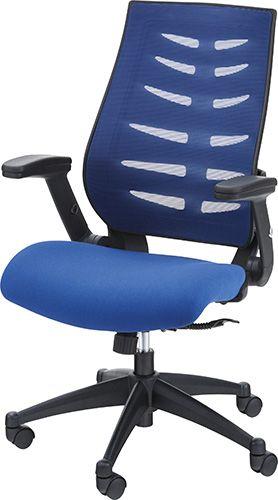 オフィスチェア OFC-21BL チェア メッシュ オフィスチェア 肘付き パソコンチェア 椅子 事務椅子 チェア オフィス