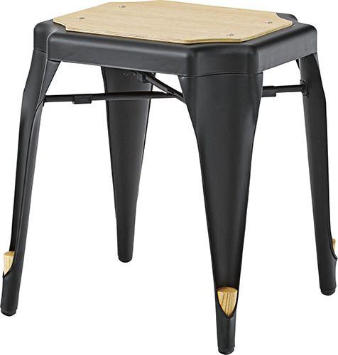 スツール PC-460BK ダイニングチェア 北欧 スチール スツール 椅子 おしゃれ 食卓 モダン カフェ AZUMAYA 東谷