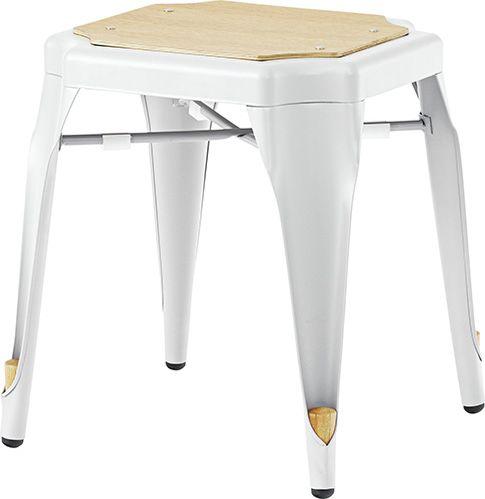 スツール PC-460WH ダイニングチェア 北欧 スチール スツール 椅子 おしゃれ 食卓 モダン カフェ AZUMAYA 東谷