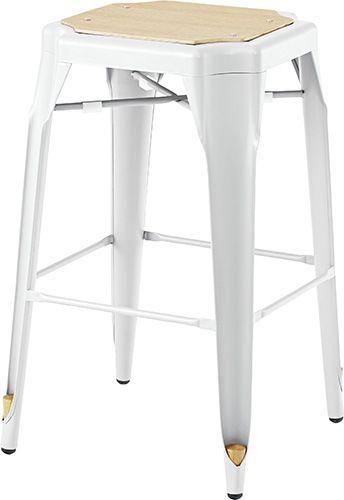 ハイスツール PC-461WH ダイニングチェア カウンターチェア いす イス 椅子 チェア スツールチェア シンプル おしゃれ 北欧 インダストリアル ブルックリン