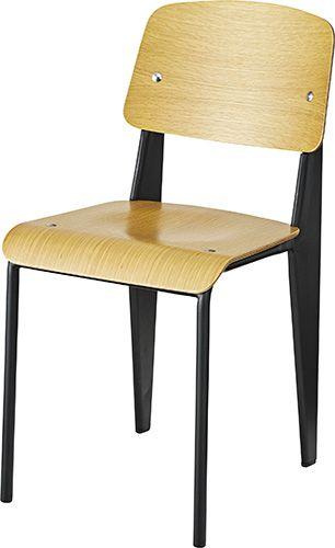 チェア PC-463BK ダイニングチェア リビングチェア カフェチェア ミーティングチェア 椅子 イス 北欧