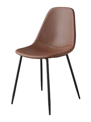 チェア TEC-40BR ダイニングチェア リビングチェア カフェチェア ミーティングチェア 木製 椅子 イス 北欧