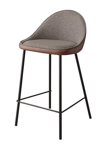 カウンターチェア TEC-42BR ダイニングチェア カウンターチェア いす イス 椅子 チェア スツールチェア シンプル おしゃれ 北欧 インダストリアル ブルックリン