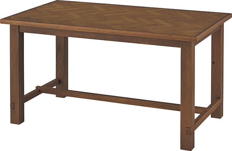 クーパス ダイニングテーブル VET-637 ダイニングテーブル リビングテーブル 幅150cm 天然木 アンティーク モダン レトロ 北欧 おしゃれ ヴィンテージ カフェ
