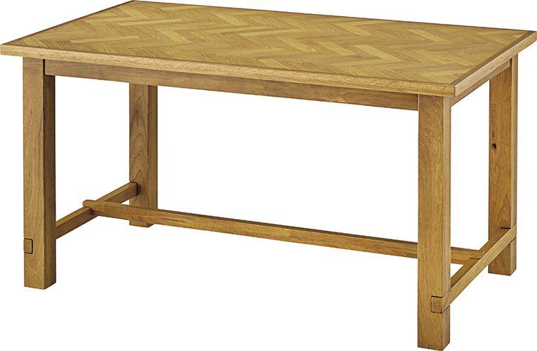 クーパス ダイニングテーブル VET-737 ダイニングテーブル リビングテーブル 幅150cm 天然木 アンティーク モダン レトロ 北欧 おしゃれ ヴィンテージ カフェ
