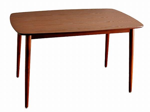 送料無料 木製ダイニングテーブル120  DT-12075 シンプルな中にもおしゃれ感のある北欧風ウッドダイニング
