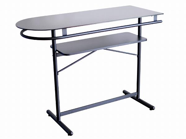 送料無料 ガラスカウンターボード PHW-1145ハイテーブル リビングダイニングテーブル ホームバー インテリア barカウンター風 ホワイト ブラック スタイリッシュ オシャレ お洒落