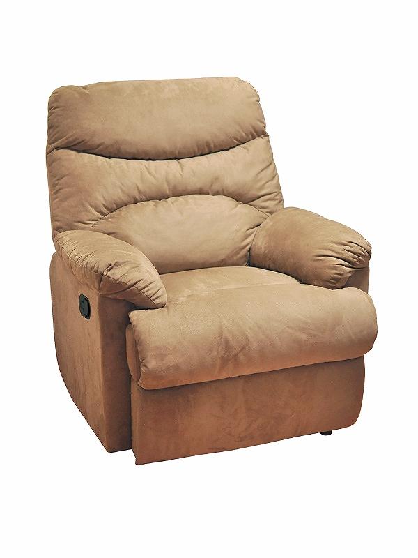 送料無料 リクライニングボアソファ WZY-100 ソファ 座椅子 ロッキングチェア 寝具 インテリア リビング ダイニング リクライニング ボア