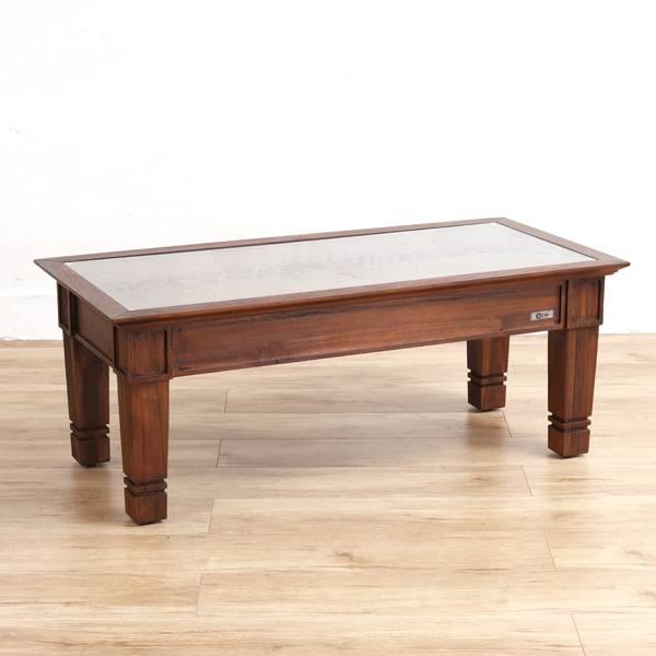 送料無料 アジアン家具 @CBi(アクビィ) チーク無垢材 センターテーブル ACT018KA