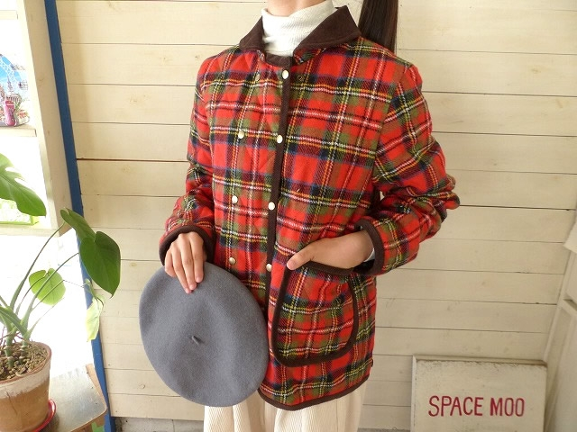 【30%OFF】CHILD WOMAN(チャイルドウーマン) mallaliu`s wool キルティングWボタンコートジャケット(01-01-CO-017-18-2)※セール商品の為、送料無料サービス対象外