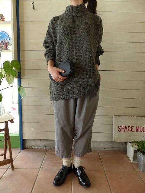 【40%OFF SALE】maomade(マオメイド) アルパカハイネックプルオーバー(841129)
