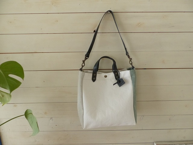 TAMPICO(タンピコ) SMALL MINI BEACH BAG WHITE(BJ4004.XS)