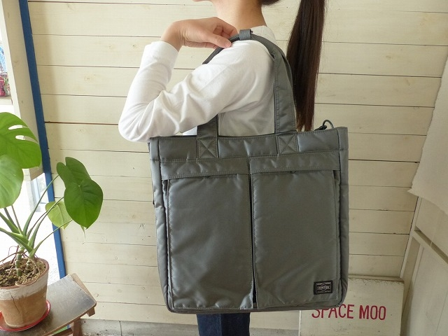 吉田カバン PORTER(ポーター) TANKER 2WAY TOTE BAG(622-66673)