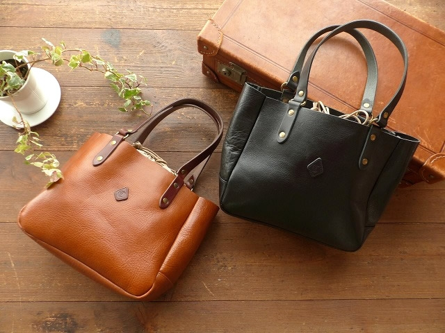 CLEDRAN(クレドラン) COW LEATHER TOTE(81-4380)(81-4382)