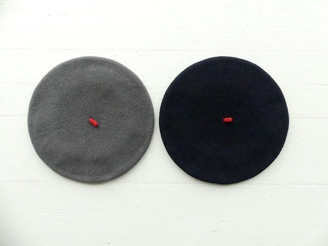 大規模セール Le 新作からSALEアイテム等お得な商品 満載 Beret Francais 赤いポッチのベレー帽 IL2031238