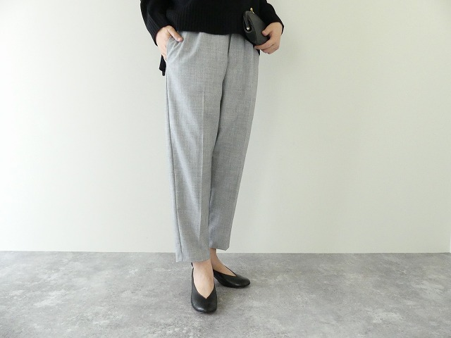 【SALE】MidiUmi(ミディウミ) tapered pants(4-767947)※セール商品の為、送料無料サービス対象外