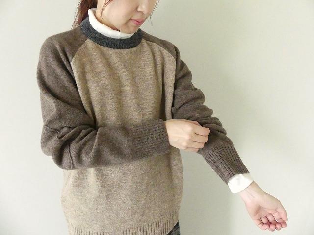 【30%OFF SALE】OMNIGOD(オムニゴット) パネルクルーネックセーター(59-410N)