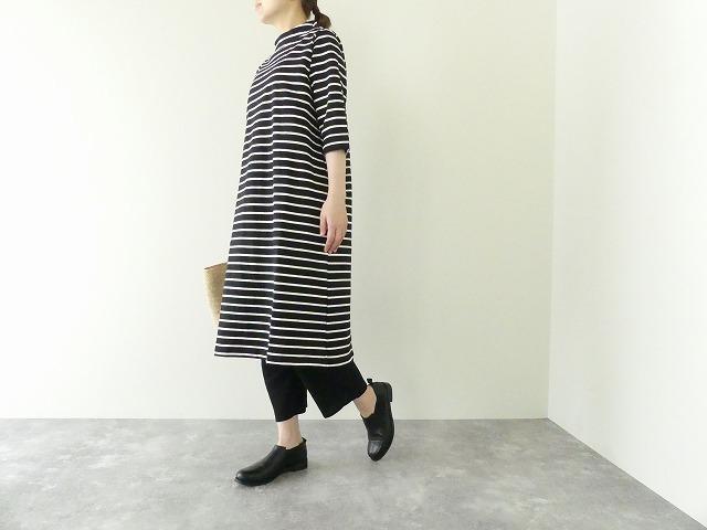 nisica(ニシカ) 7分袖ガンジーワンピース(NIS-902-1B-7S)