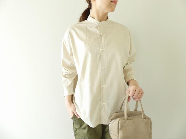 Gymphlex(ジムフレックス) ハイカウントポプリンスタンドカラーシャツ(J-1470HGL)