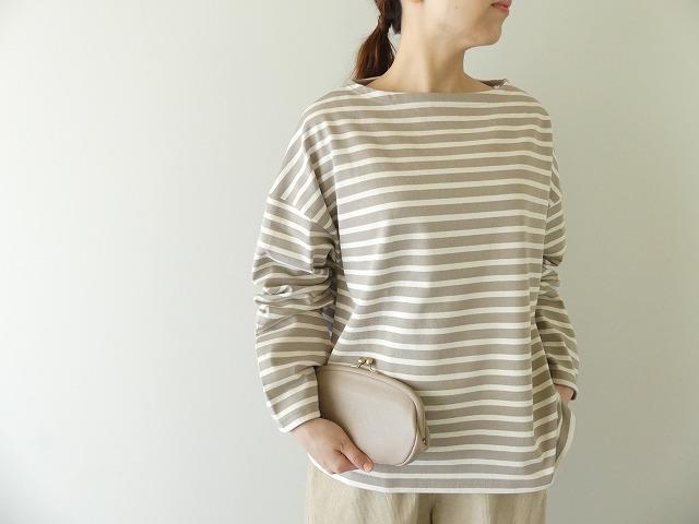 ORCIVAL(オーシバル) 長袖ワイドボーダーTシャツ(B449)