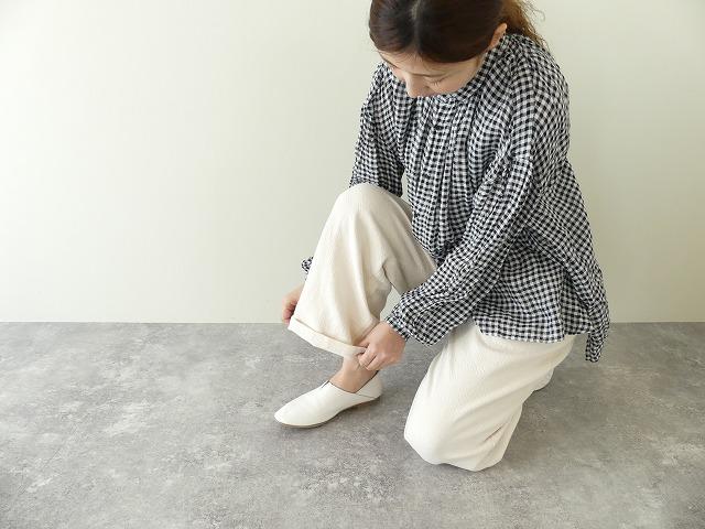 LOLO ロロ 在庫一掃 LP-181 NEW売り切れる前に☆ トリプルヤーンツイルワイドイージーパンツ