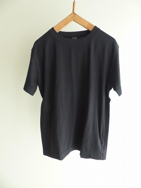 当店限定販売 homspun ホームスパン 天竺半袖Tシャツ 5 ブラック XL 品質保証 6272 XXLサイズ