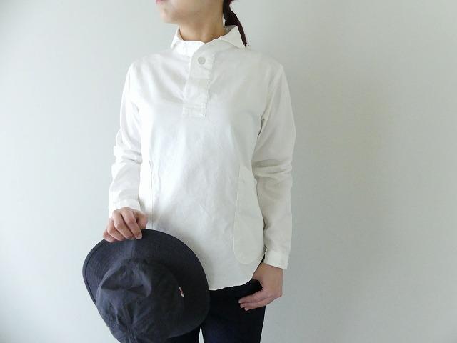 LOLO ロロ 定番OX丸襟シャツ 代引き不可 賜物 LS-3